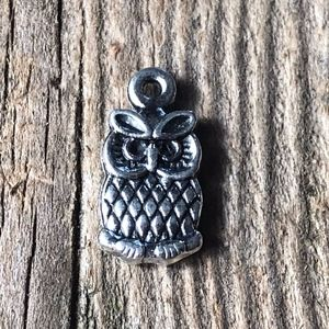 4 for $25 Owl Pendant Charm for Crafting